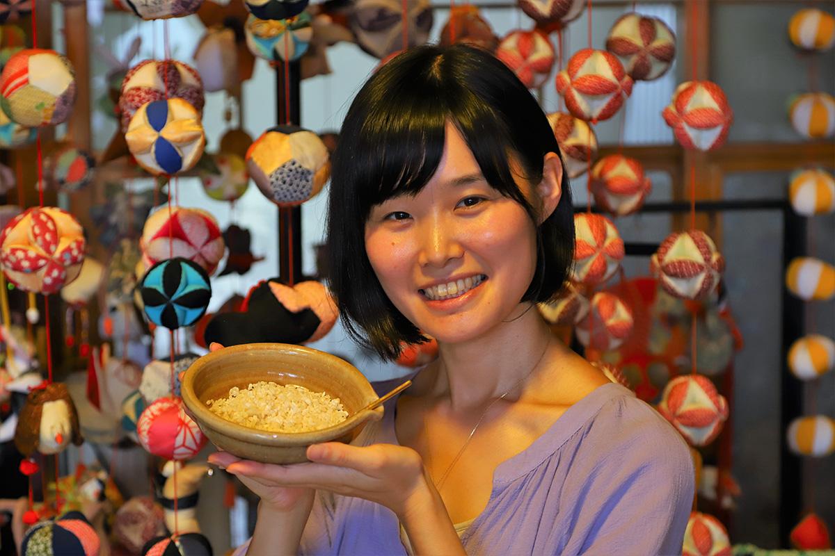 すずめ農園代表 前川 美穂さんの写真