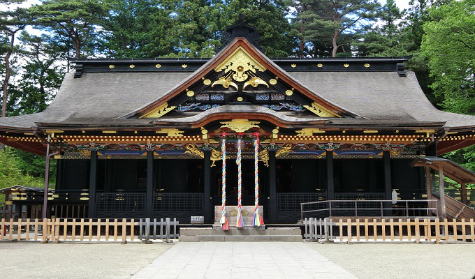 大崎八幡宮の風景