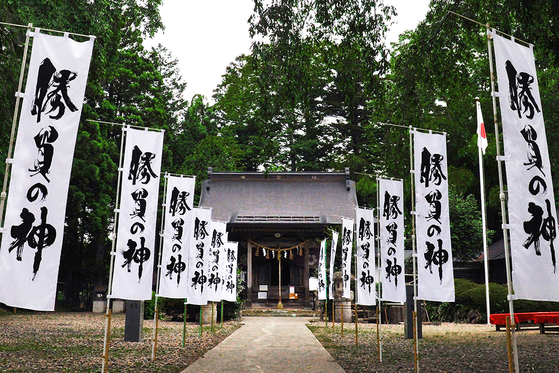 秋保神社の風景