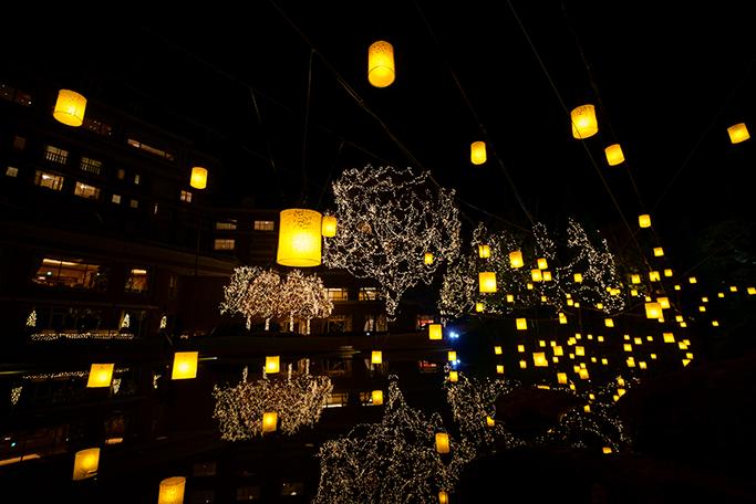 冬の夜を楽しむ(仙台ロイヤルパークホテル)「グランピングレストランとガーデンイルミネーション」