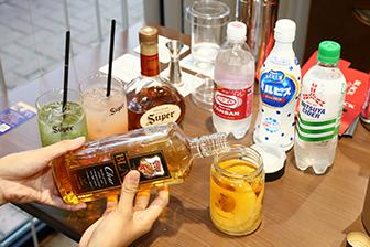 セミナーでは季節の食材の漬込みウイスキーもお楽しみいただけます。