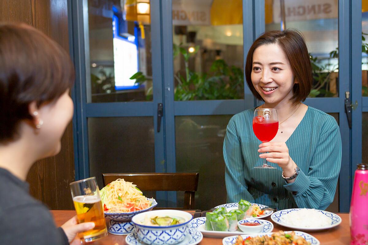 タイレストラン「Tha Chang」