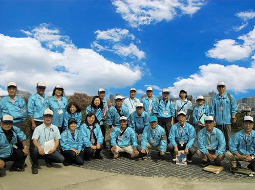 NPO法人仙台城ガイドボランティア会の様子