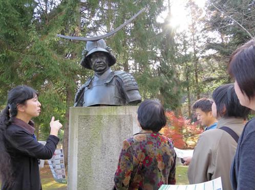 仙台市博物館ボランティア三の丸会の様子