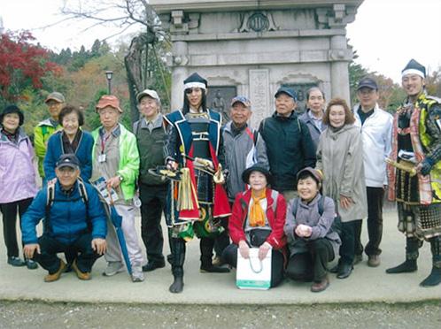 仙台市歴史と文化財ガイドボランティア友の会の様子