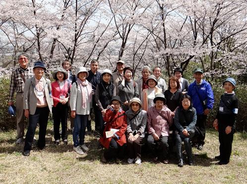 加茂地域歴史ガイドボランティアの様子