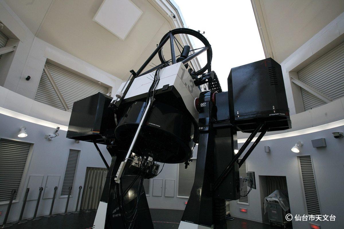 ひとみ望遠鏡の様子