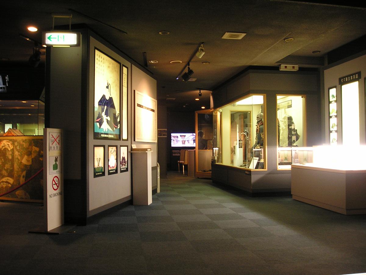 資料展示館内観の様子