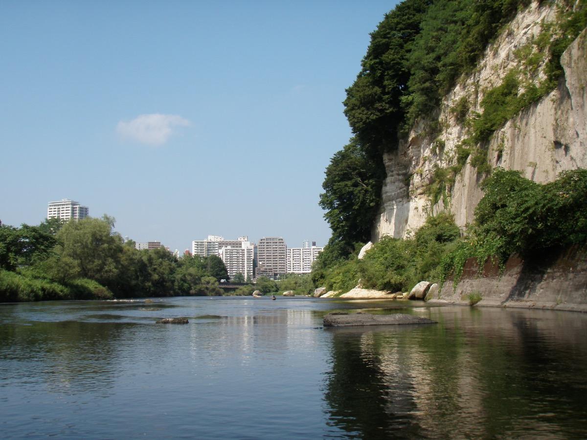評定河原大露頭