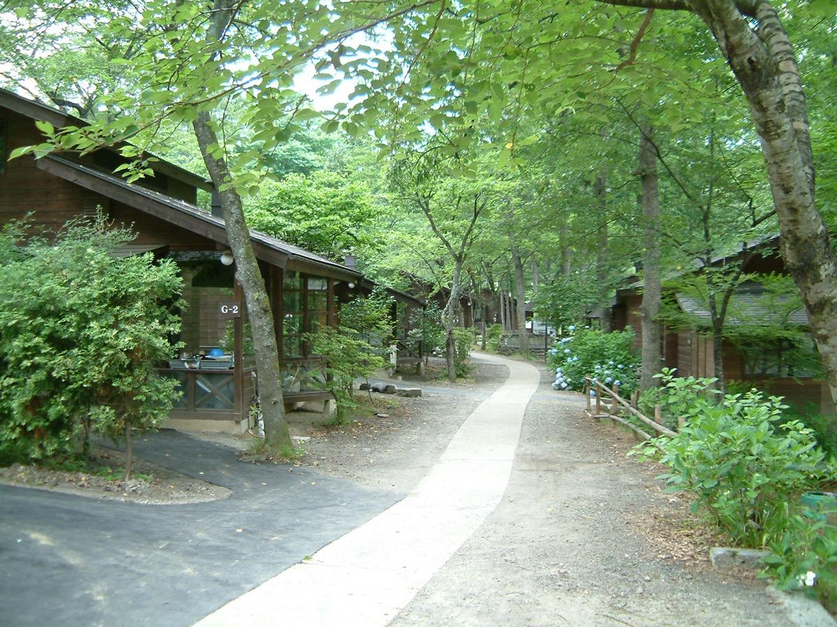 木の家ロッジ村ロッジ