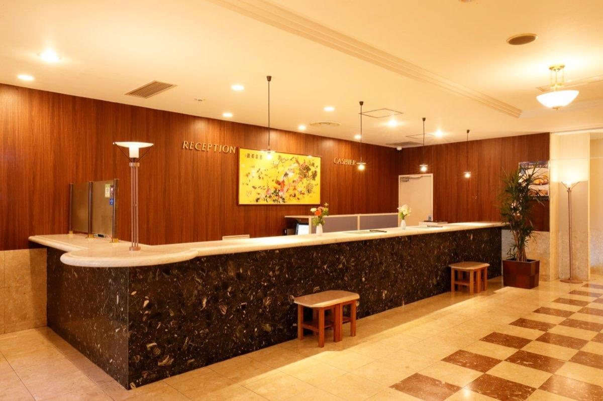 ホテルパールシティ仙台フロントカウンター