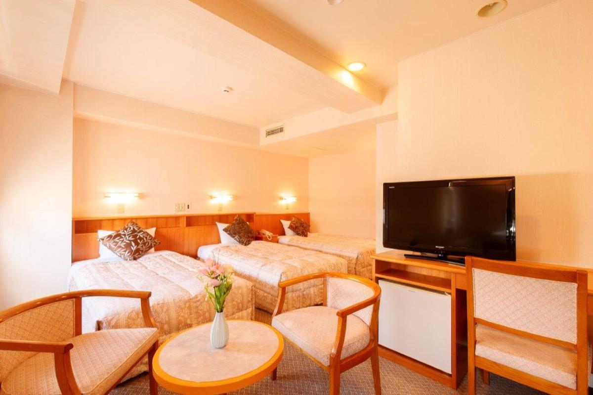 ホテルパールシティ仙台客室一例(トリプルルーム)