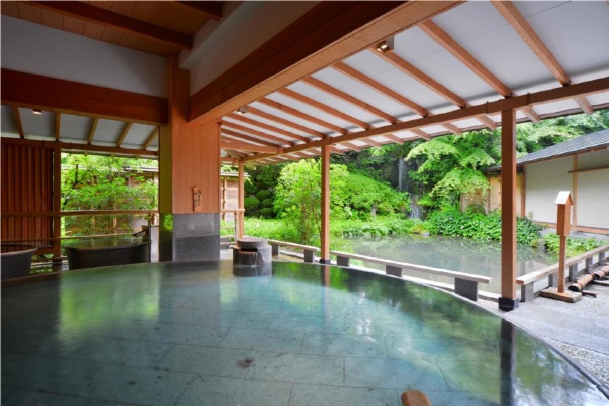 ホテルニュー水戸屋水心鏡満月風呂