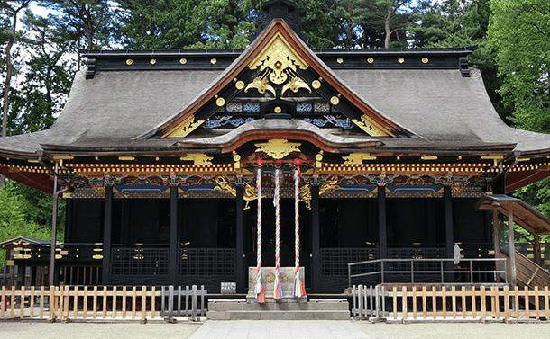 歴史的建造物:大崎八幡宮