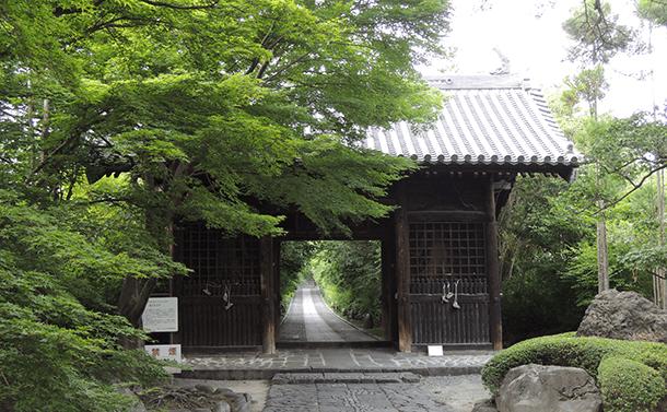 歴史的建造物:輪王寺山門