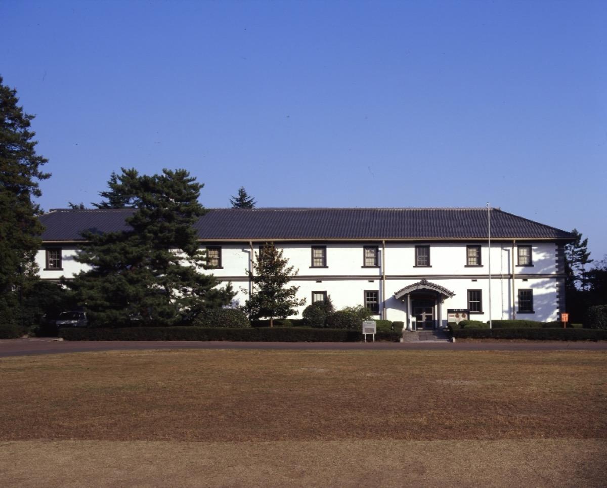 仙台市歴史民俗資料館外観