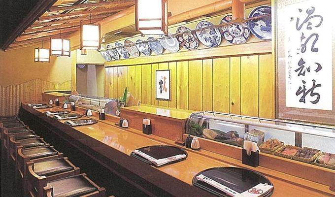 福寿司カウンター席