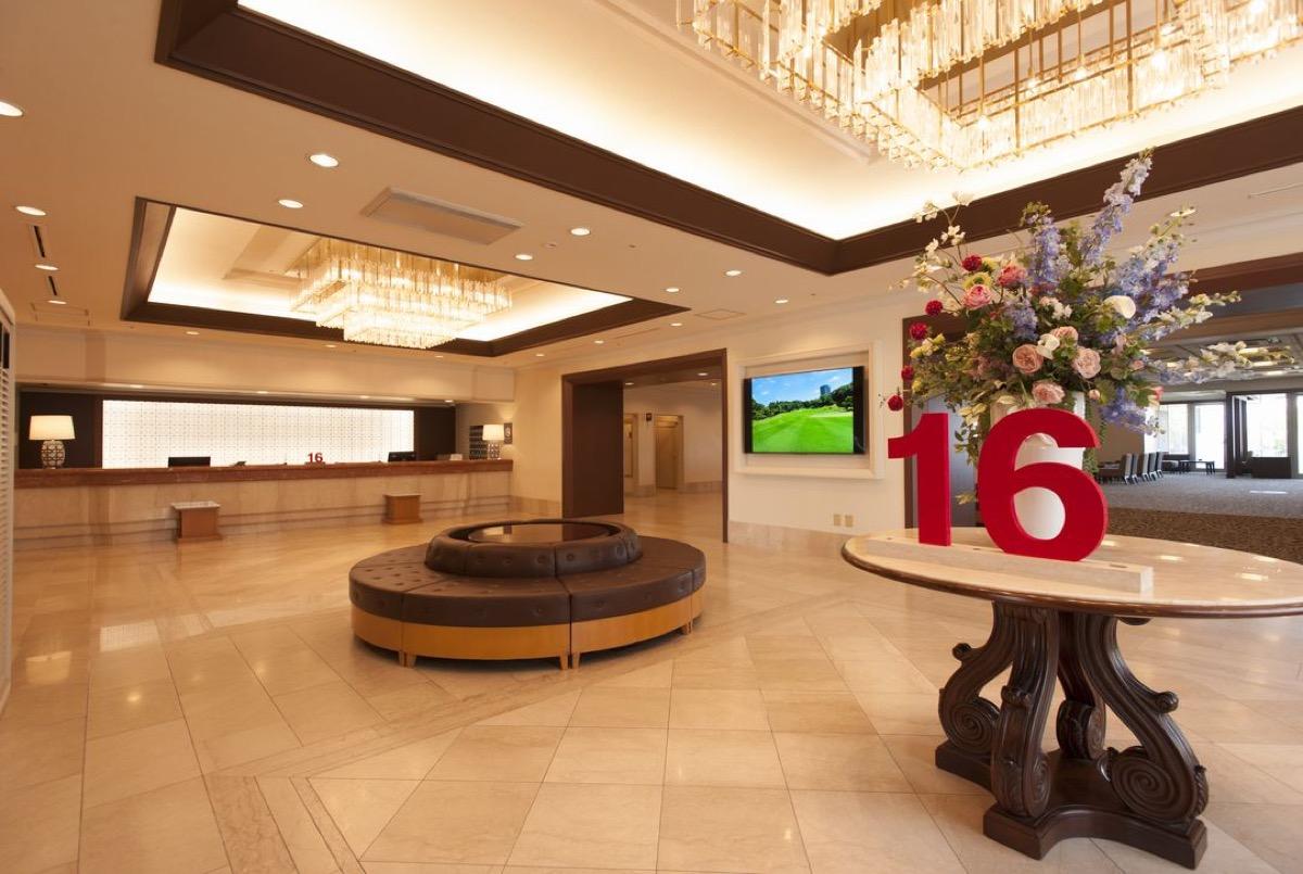 仙台ヒルズホテルロビー