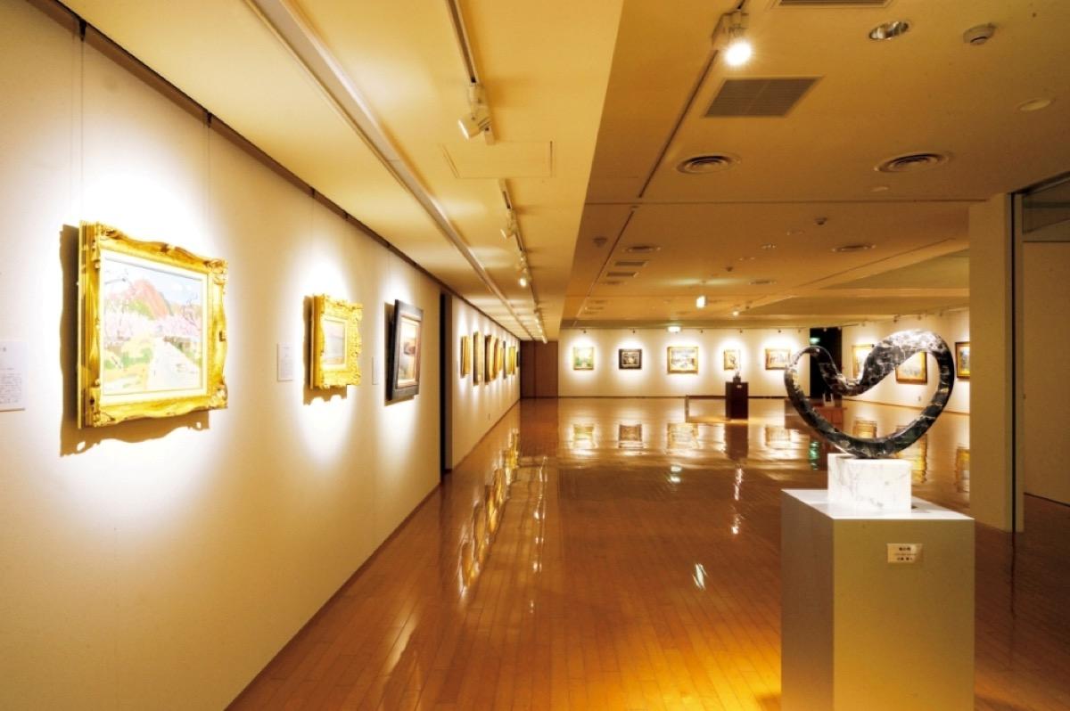 絵画展示室