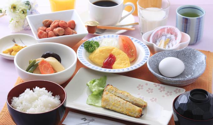 オレンジ・イン仙台東朝食