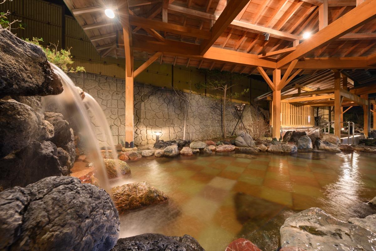 ホテル瑞鳳露天風呂