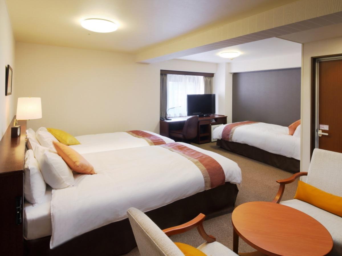 リッチモンドホテル仙台トリプルルーム