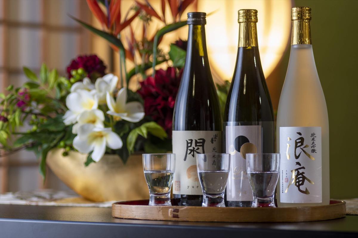 佐々木酒造利き酒