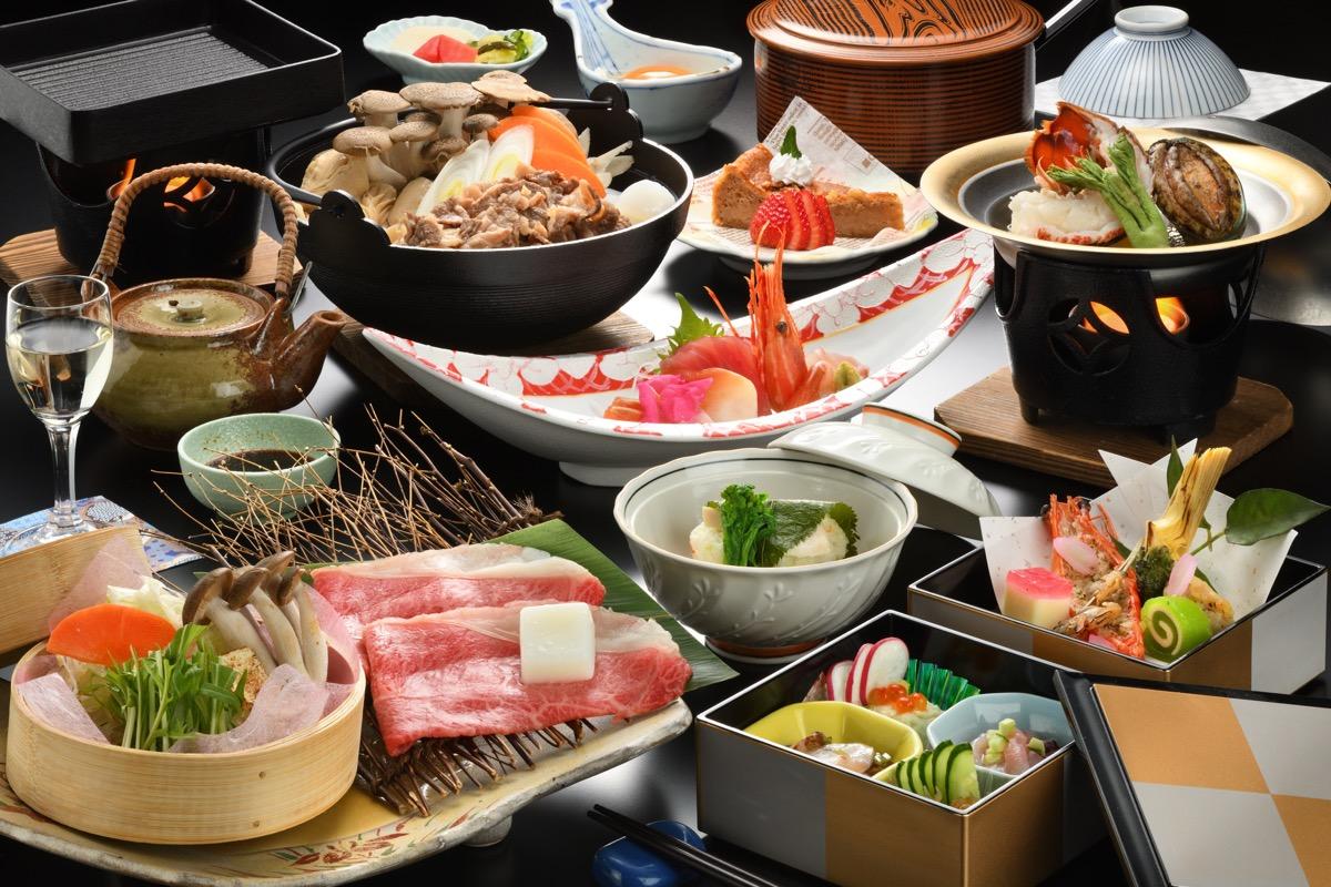 鷹泉閣岩松旅館料理