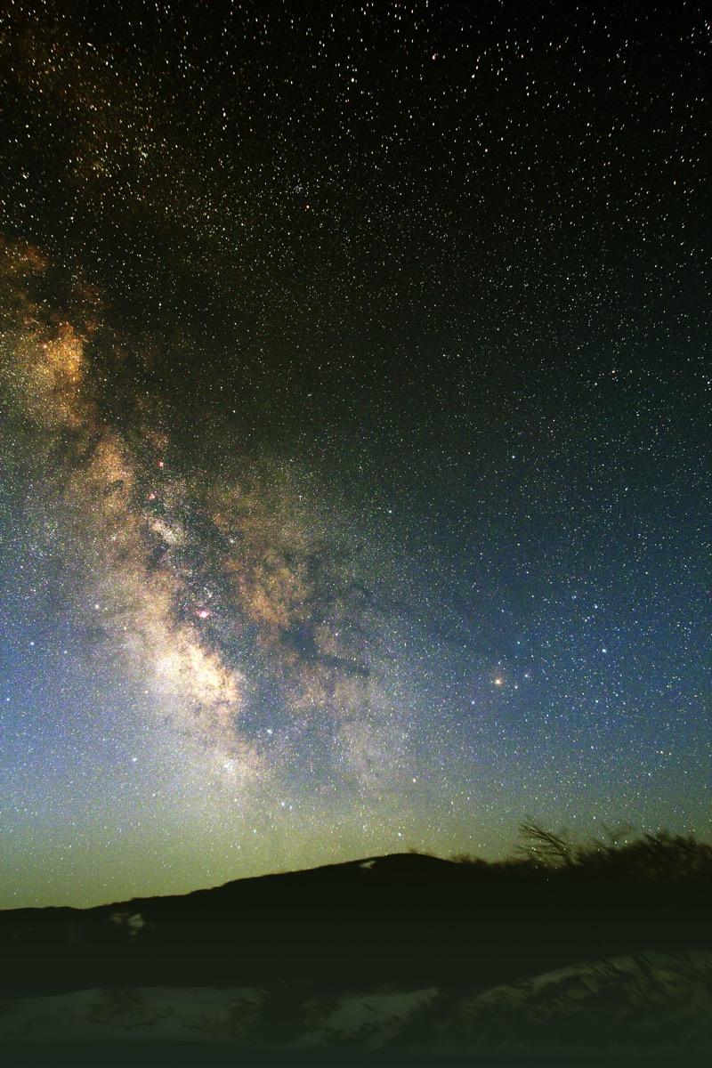 星空の様子