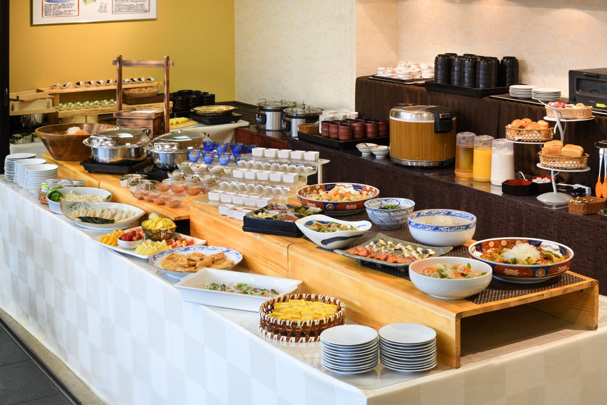 仙台ガーデンパレス朝食