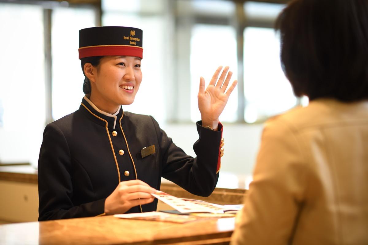 ホテルメトロポリタン仙台ベルスタッフ