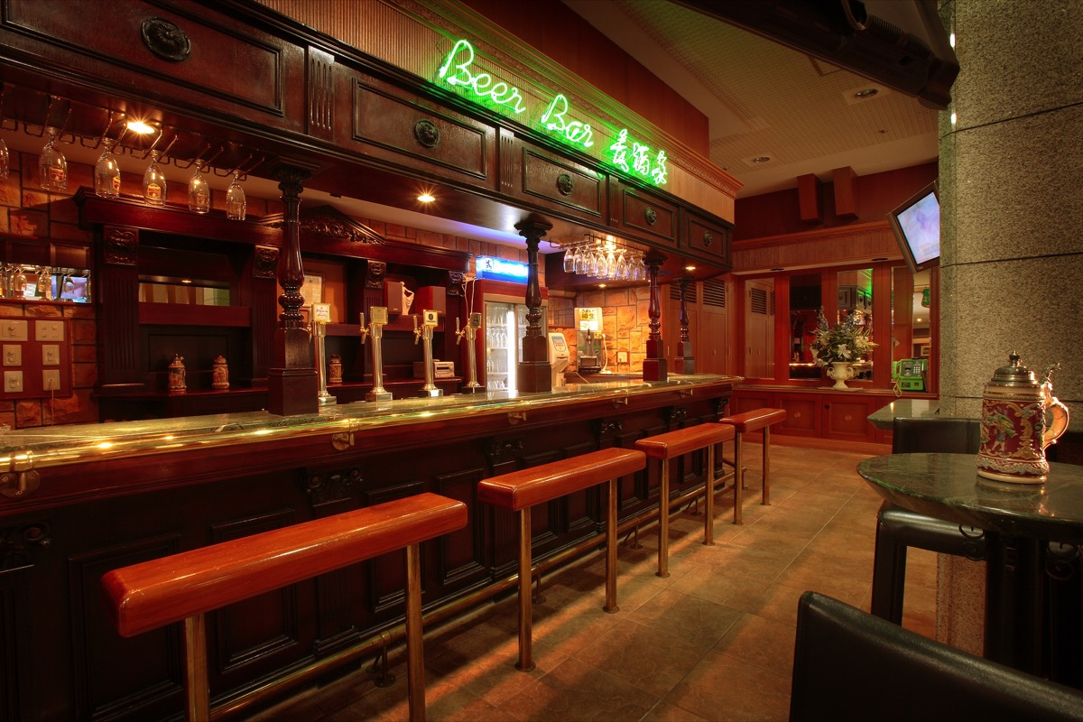 篝火の湯緑水亭Beer Bar「麦酒家」