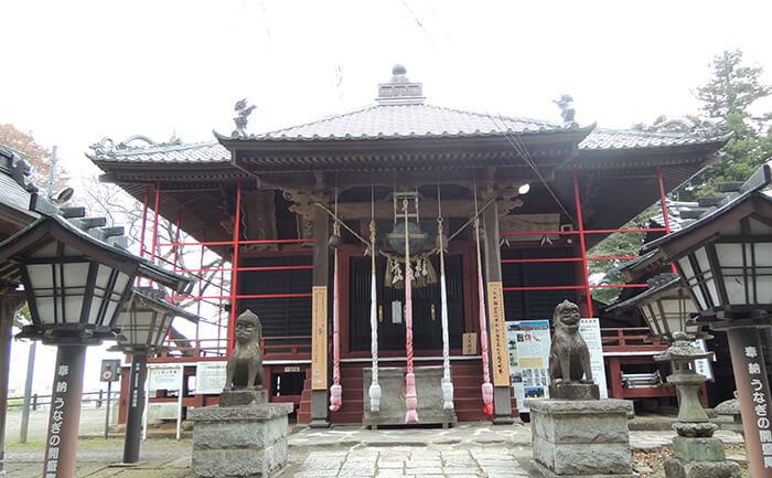 歴史的建造物:大満寺虚空蔵堂