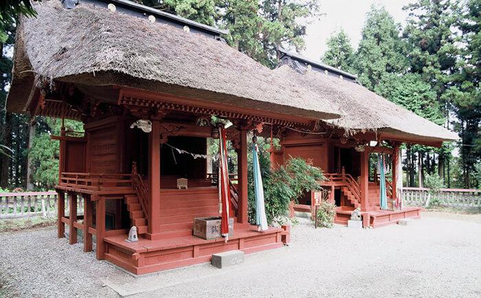 歴史的建造物:賀茂神社