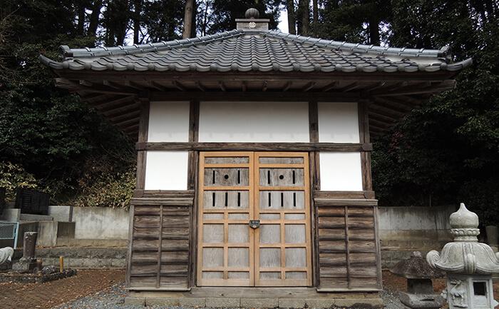 歴史的建造物:善応寺開山堂
