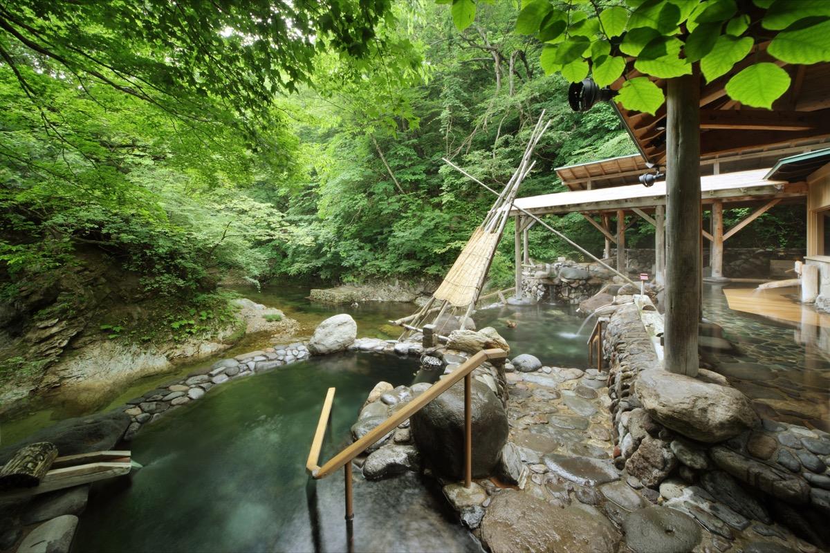 ゆづくしSalon一の坊広瀬川源流露天風呂