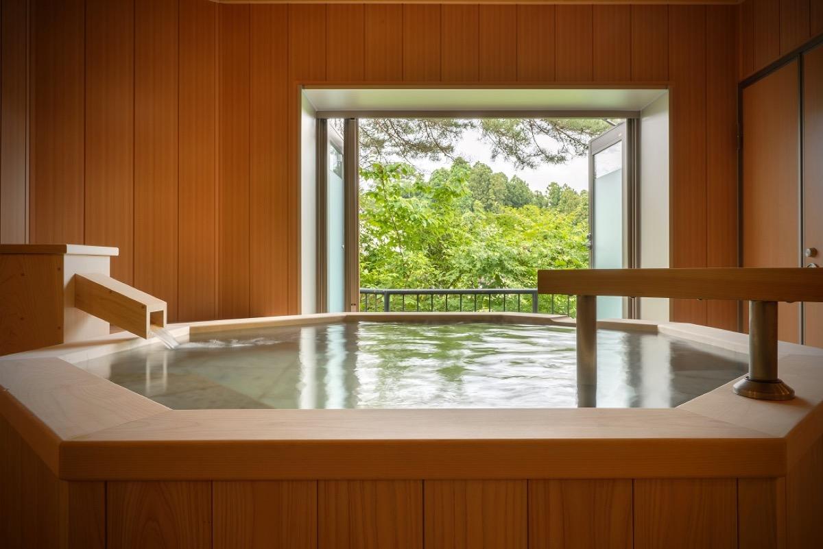 花ごころの湯新富亭貸切風呂