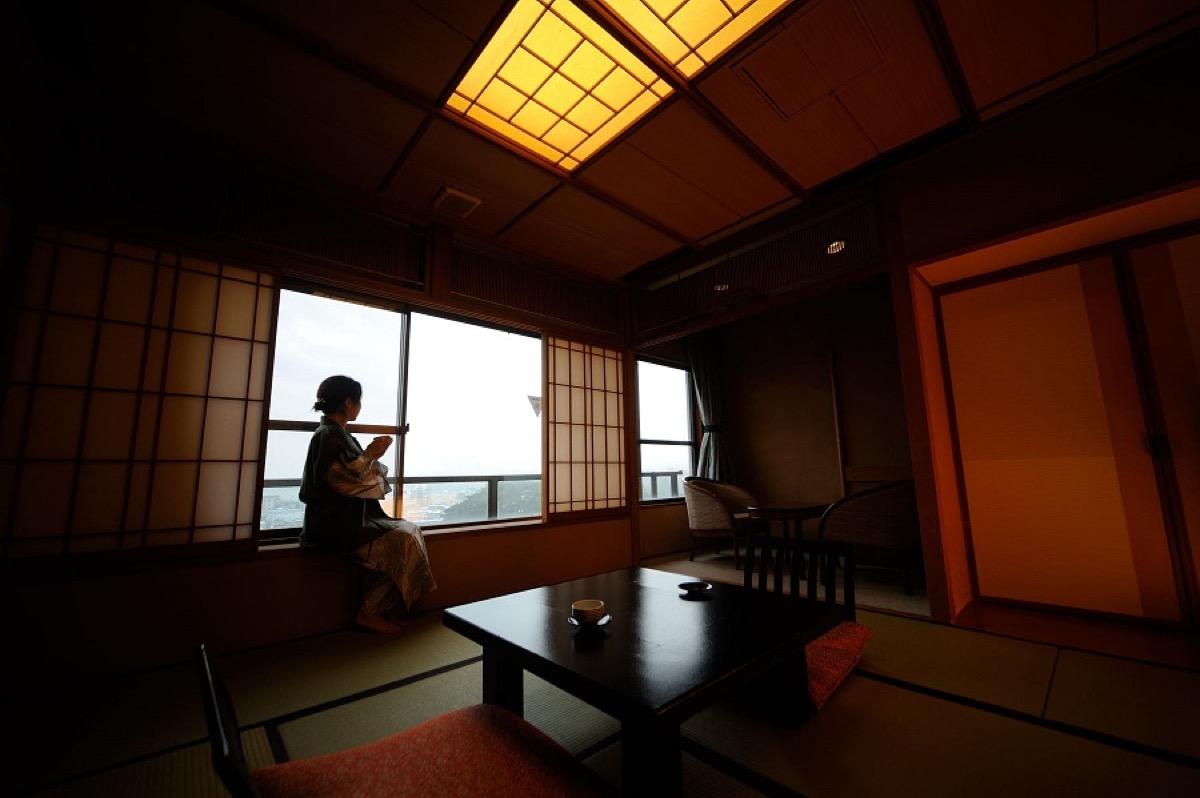 花ごころの湯新富亭客室