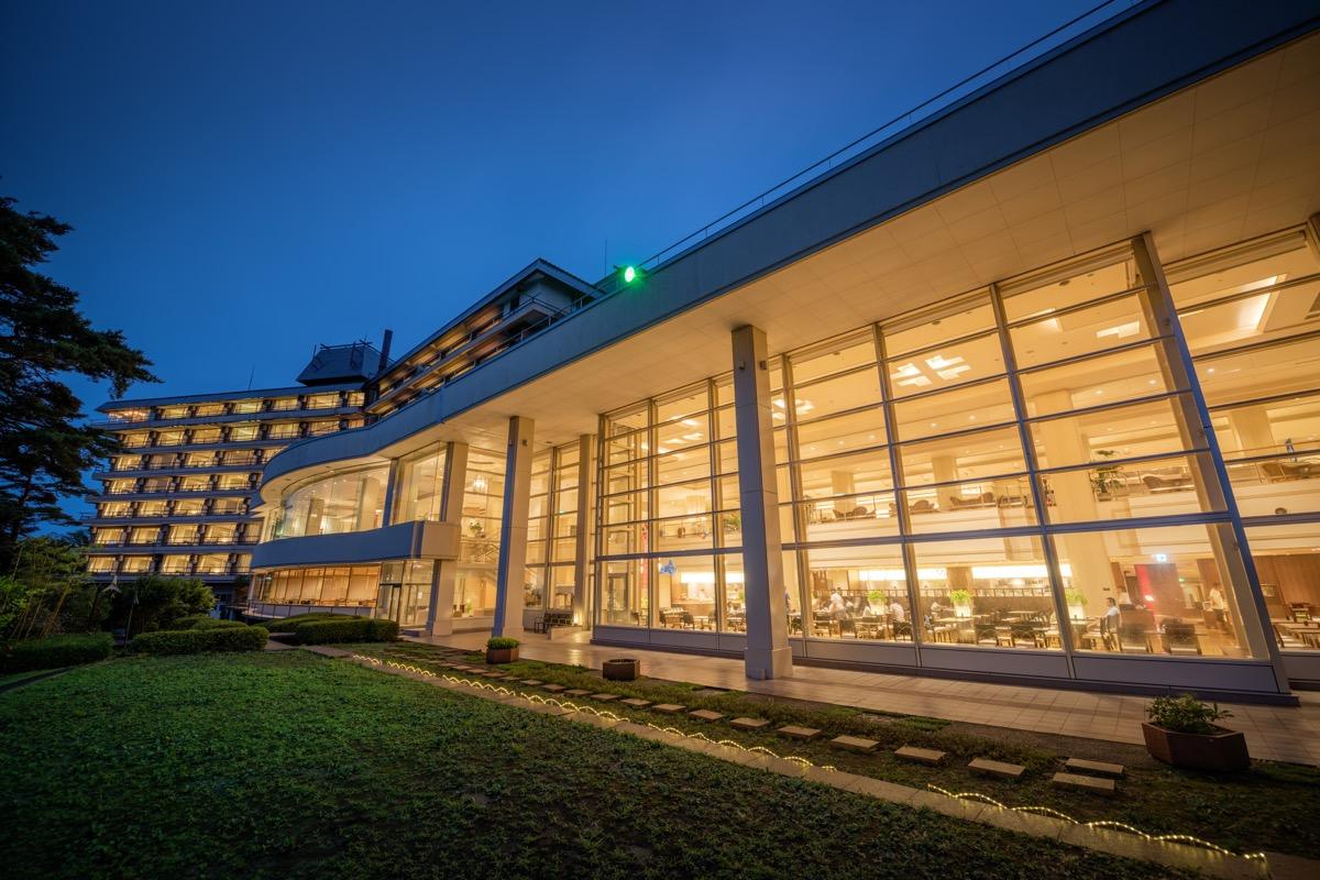 ホテル松島大観荘外観