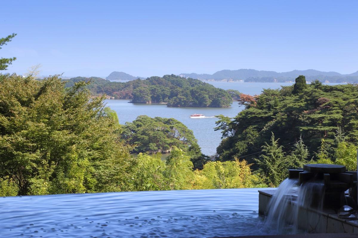 ホテル松島大観荘絶景風呂