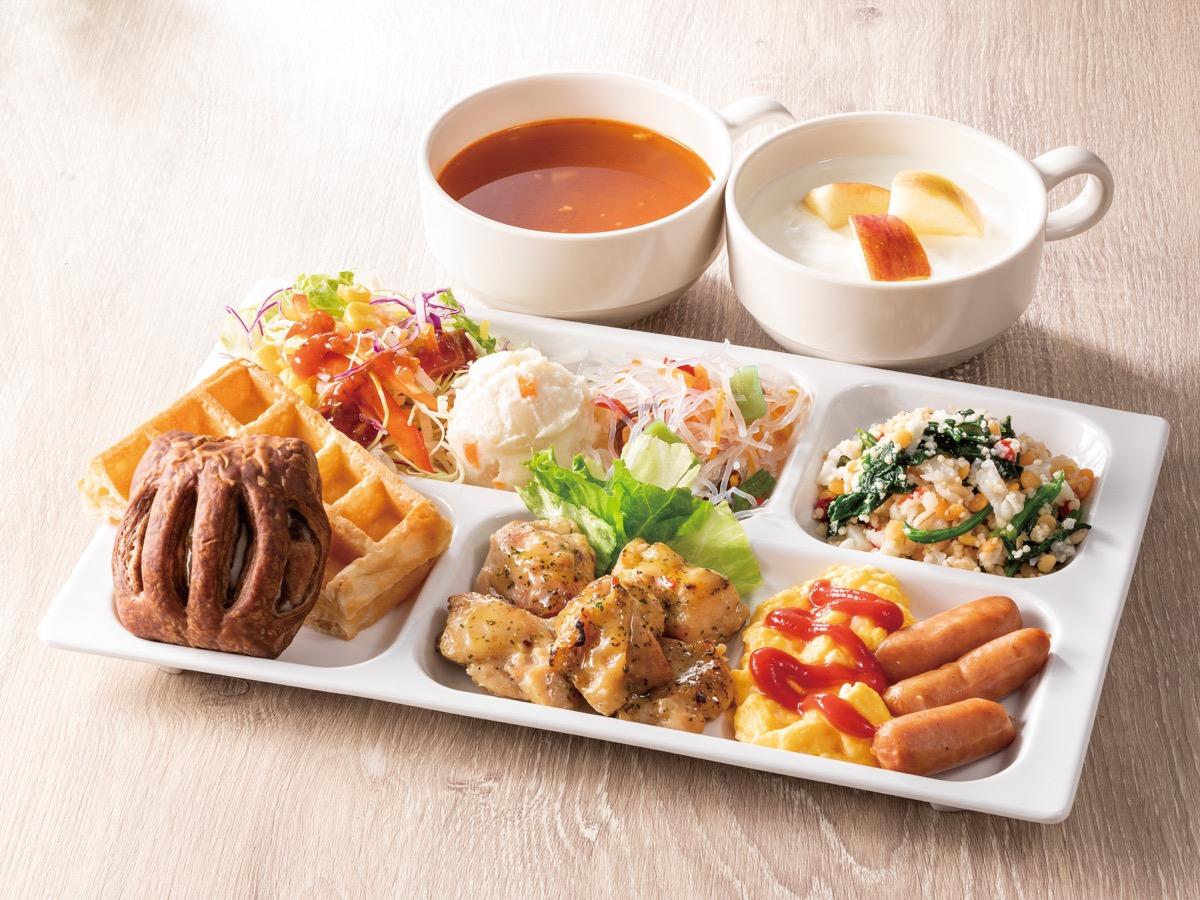 コンフォートホテル仙台東口朝食