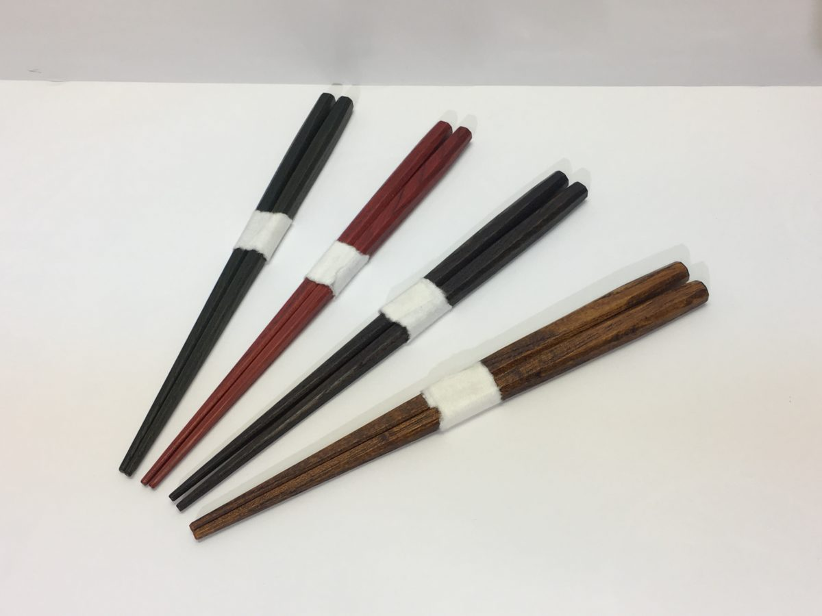 欅拭漆太箸