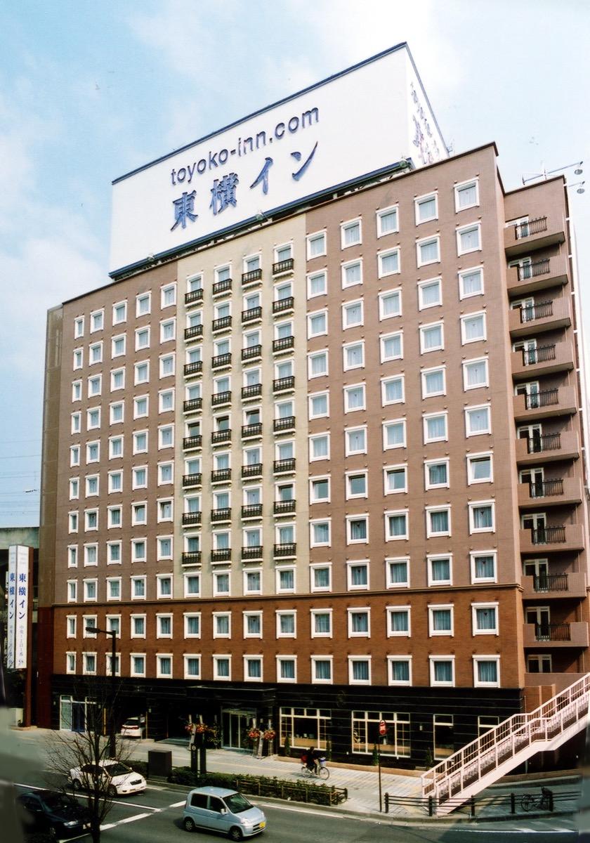 東横INN仙台駅西口中央ホテル外観