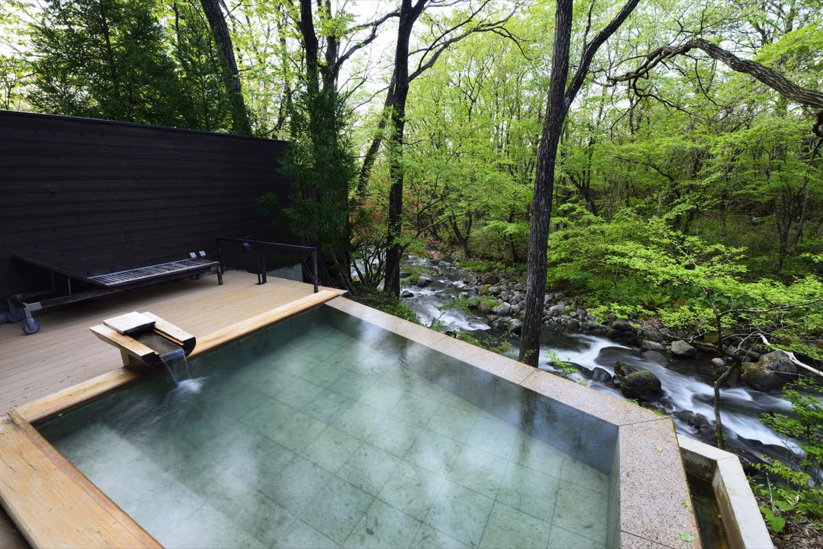 「蔵王の森」がつくる美と健康の温泉宿ゆと森倶楽部お風呂