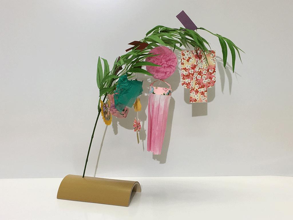 仙台ミニ七夕飾りの様子