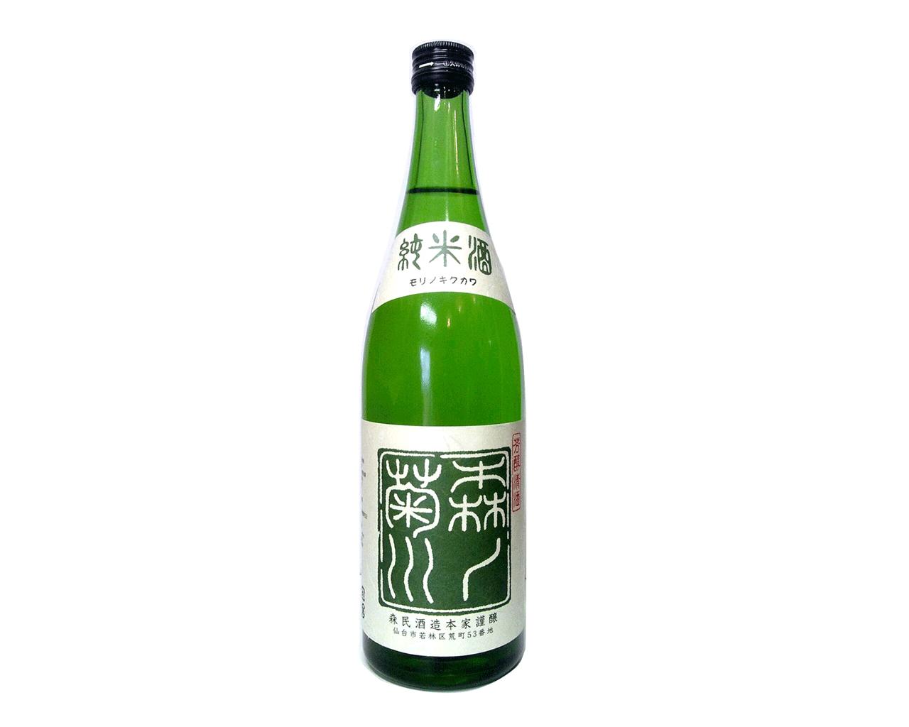 森乃菊川 純米酒 720ml ※価格は販売店により異なるの様子