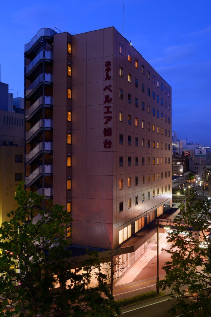 宿泊施設:ホテルベルエア仙台