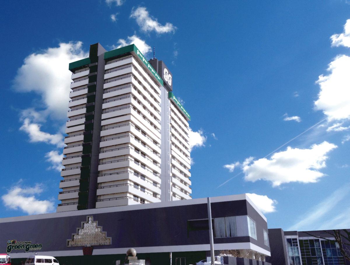 宿泊施設:La楽リゾートホテルグリーングリーン