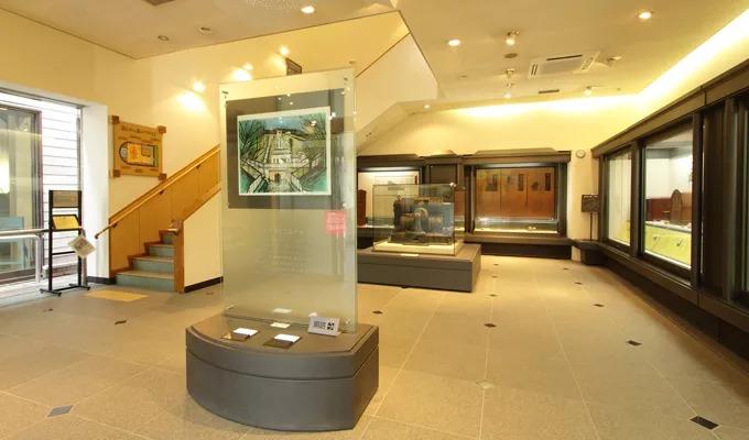三居沢電気百年館 展示室