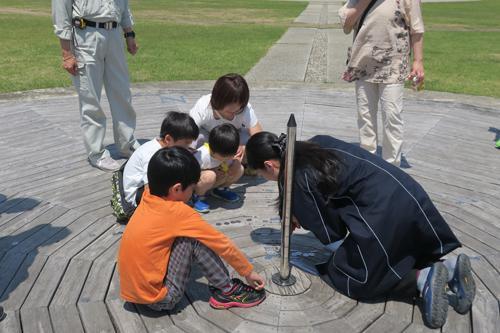 ジャンル:仙台市天文台 ワークショップ「太陽の通り道をたどろう!~アナレンマのふしぎ~」